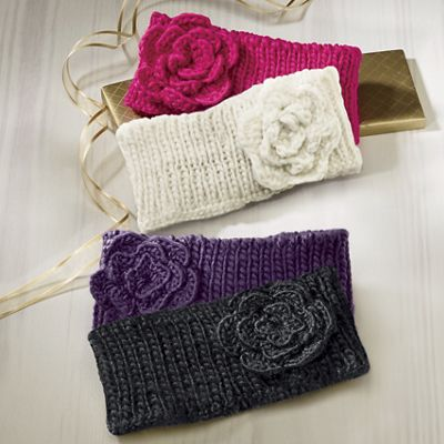 2-Pack Flower Headbands