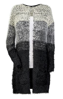 Ombre Duster Cardigan Sweater from Seventh Avenue