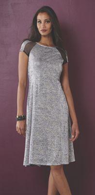 Jada Mesh Inset Dress