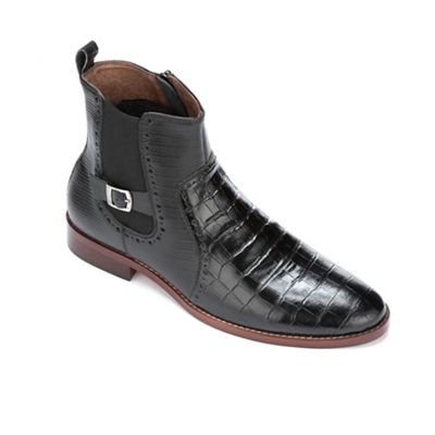 Men's Animal Embossed Boot