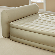 inflatable headboard air bed by intex