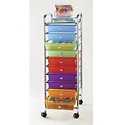 10-Drawer Cart