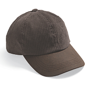 Men's Washed Cord Baseball Cap