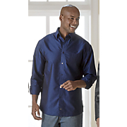 Men's Solid Under-Button Collar Shirt by F/X Fusion