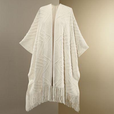 Fringe Sweater Wrap