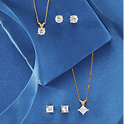 1/4 CT Solitaire Diamond Necklace