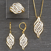 3 pc  diamond jewelry set