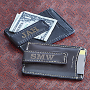 Personalized Magnetic Money Clip Wallet