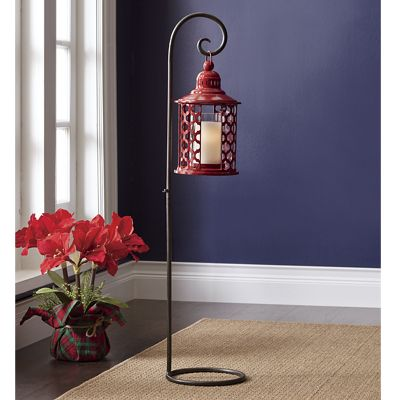 Red Lantern with Stand