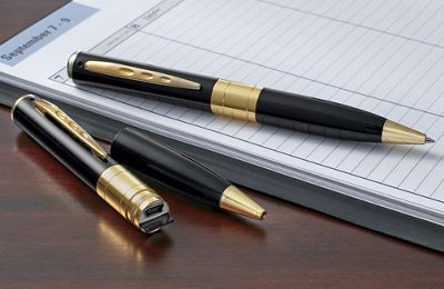Spy Camera/Voice Recorder Pen