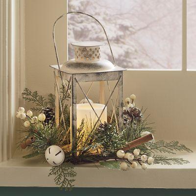 Winter Floral Lantern