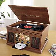 Classic 6-In-1 Turntable with Bluetooth by Victrola