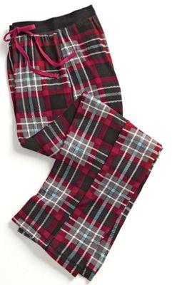 Women's Plaid Pajama Pant
