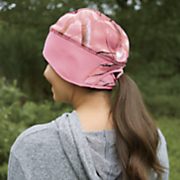 ponytail camo hat