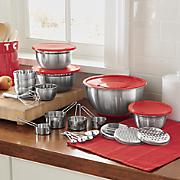 26 pc  kitchen prep set