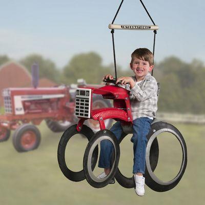 Case IH Tractor Tire Swing