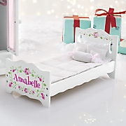 pers doll bed with bedding