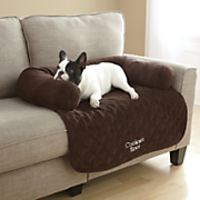 personalized furniture protector with bolster