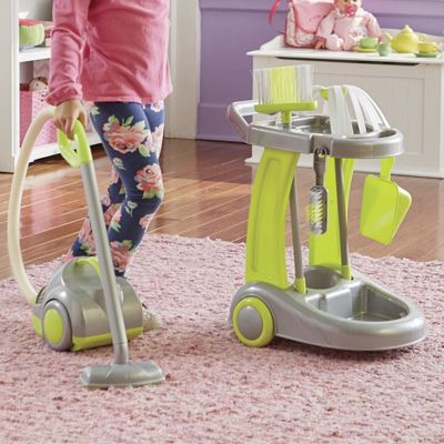 6-Piece Vacuum with Cleaning Trolley Set