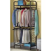 metal clothes organizer