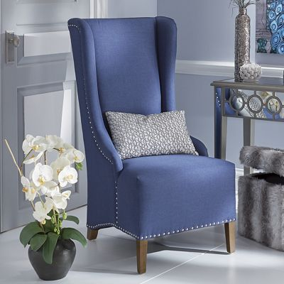 naomi high back accent chair