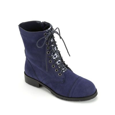 Women's Combat Boot by Seventh Avenue