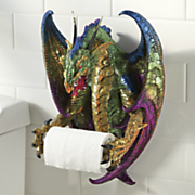 dragon toilet paper holder