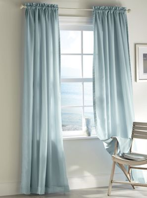 Rhapsody Lined Voile Panel by Thermavoile