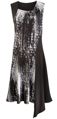 Splatter Blocked Dress