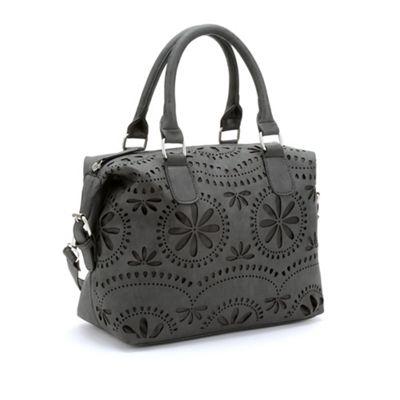 Floral Satchel Bag