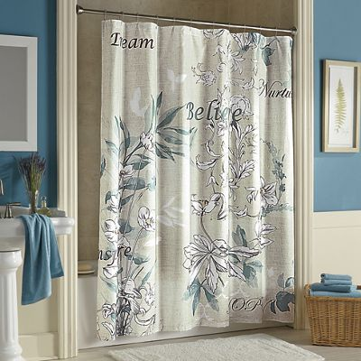 Sentiments Shower Curtain