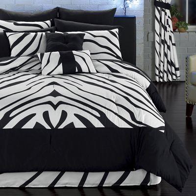 14-Piece Urban Jungle Bedding Set and Window Set