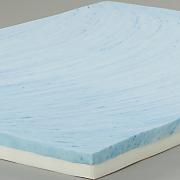 techsleep cooling 4  foam mattress topper
