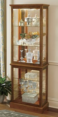 Side-Loading Lighted Curio