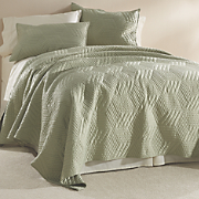 Geo Stitch Oversized Quilt and Sham