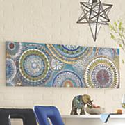 Blue Moroccan Art