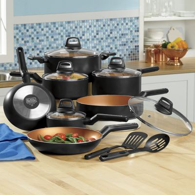 14-Piece Coppertone Nonstick Cookware Set by Black+Decker<sup class='mark'>&reg;</sup>