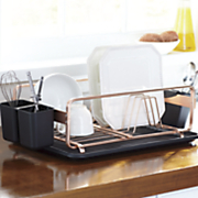 Coppertone Dish Rack