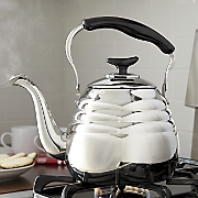 3-Qt. Stainless Steel Portobello Tea Kettle by Ginny's