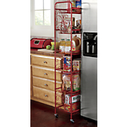 Scroll 6-Tier Rolling or Standing Shelves