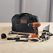 56 pc  cordless drill project kit by black   decker 26