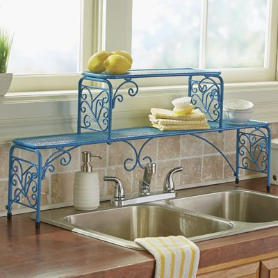 Scroll Over The Sink Sink Shelf From Ginny S Ja746979