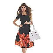 Ava Floral Border Dress
