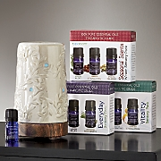 Airome Essential Oil Diffuser and Essential Oil 3-Pack