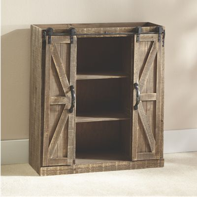 Barn Door Cabinet From Seventh Avenue