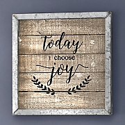 Today I Choose Joy Framed Art