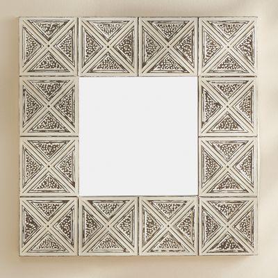X Framed Mirror