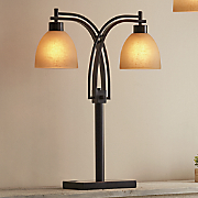 two bulb table lamp