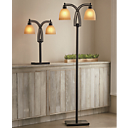 two bulb floor lamp