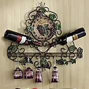 Vineyard Wine and Stemware Holder
